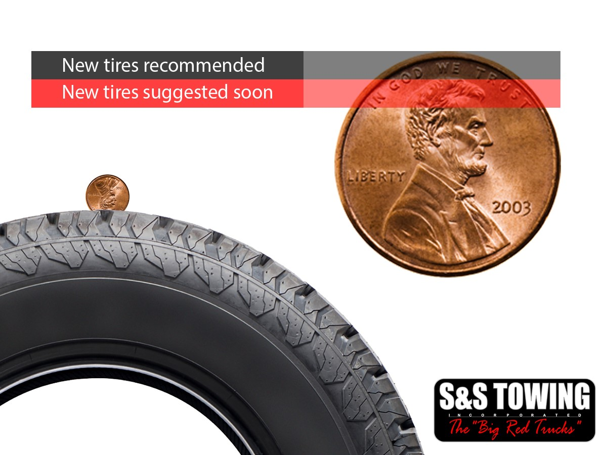 S S Towing Tire Safety Penny Test